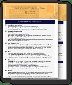 Checkliste Blog
