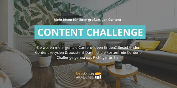 Content Challenge