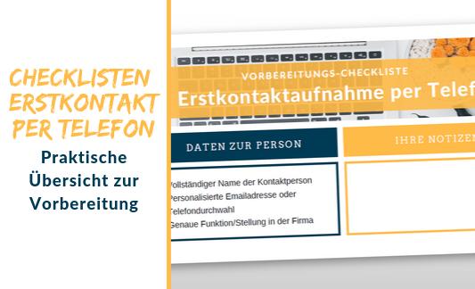 Banner_Checkliste Erstkontakt Telefon