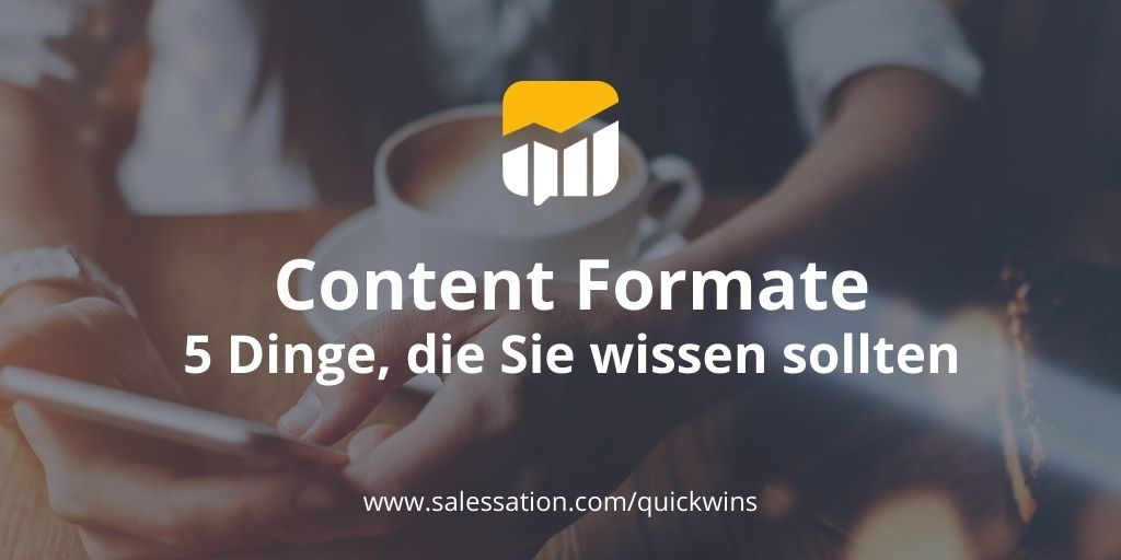 Content-Formate