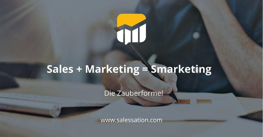 SalesSation-Smarketing-Zauberformel