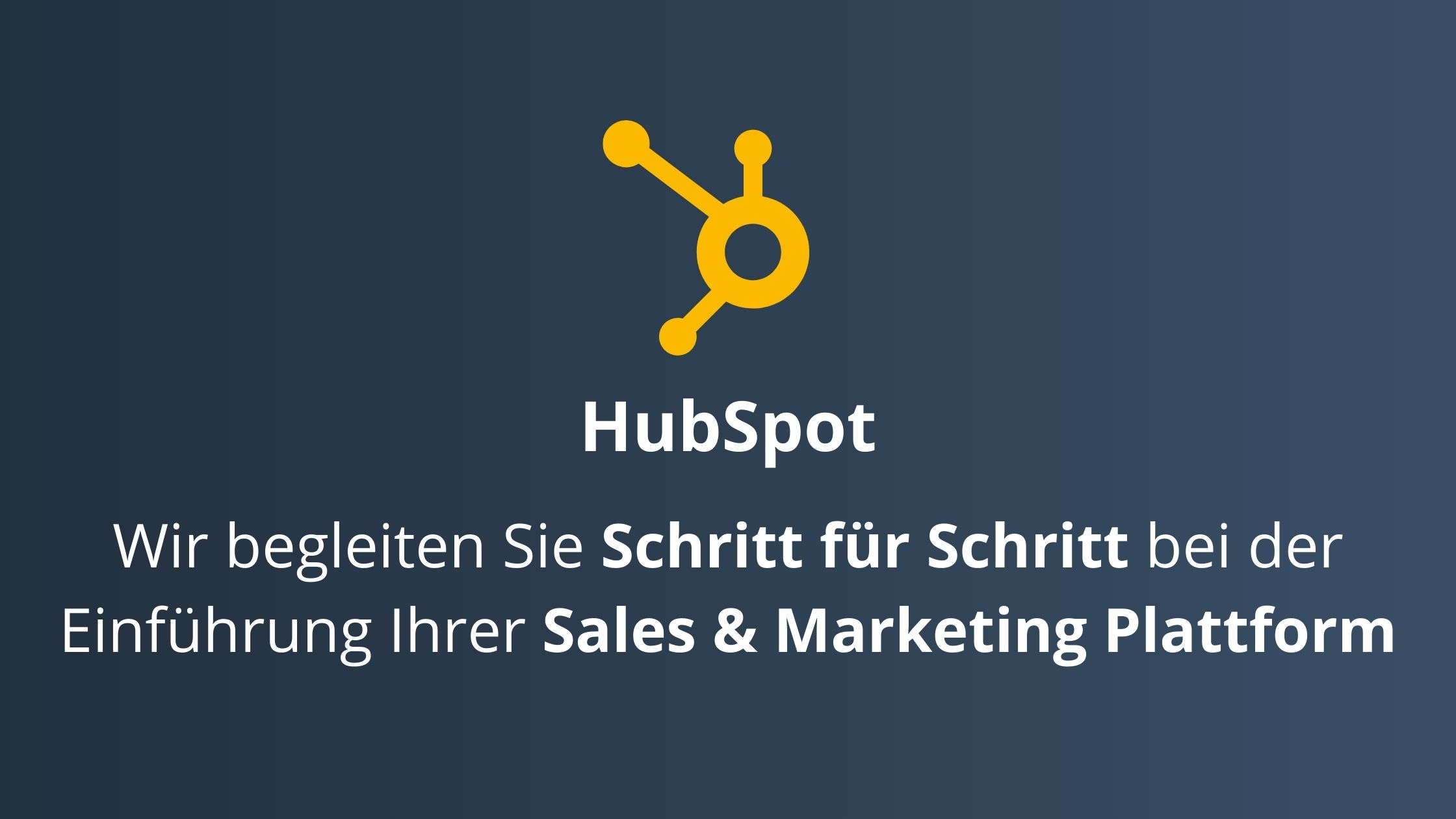 SalesSation-Leistungen-HubSpot