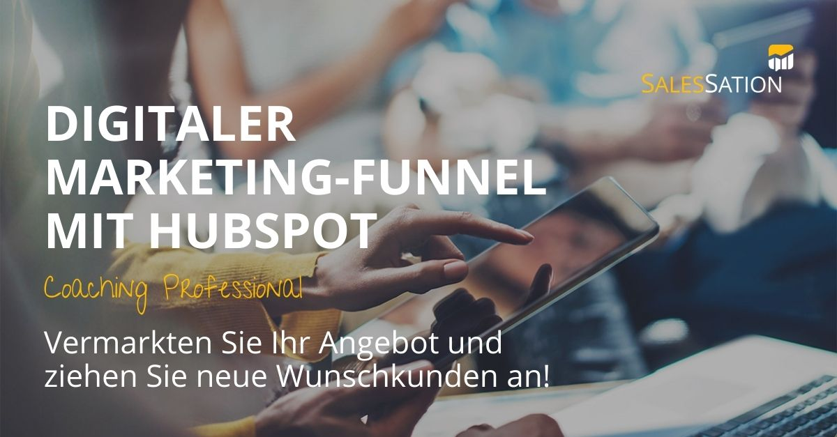 Digitaler Marketing-Funnel-HubSpot